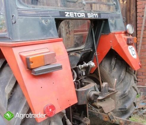 Ciągnik Zetor 5211 z Turem, rocznik 1988 - zdjęcie 1