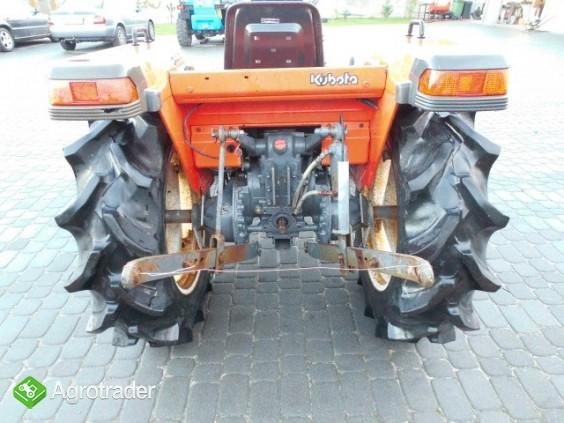 Kubota GL 25   25KM 4x4 wspomaganie rewers mini traktor iseki yanmar   - zdjęcie 6