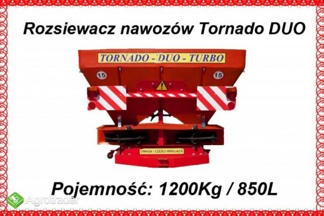 Rozsiewacz nawozów Tornado Duo 850 L / 1200 kg