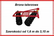 BRONA TALERZOWA 2,7 m 3,15 M V X TRANSPORT, RATY