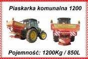 Piaskarka komunalna drogowa 850 L /1200 kg