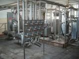 linia przerobu mleka - pasteryzatory