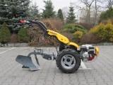 Pasquali Ciagnik traktor miniciagnik jednoosiowy z pługiem do orki XB4