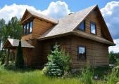 Krycie dachów wiórem osikowym, gontem drewnianym