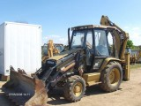 Koparko-ładowarka Cat 428C RABAT