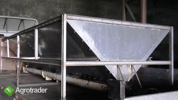 Kosz przyjęciowy do zbóż itp. 4,6m – 5,6m, wydajność ok. 25 t/h - zdjęcie 2