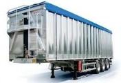 Transport ładunków sypkich wywrotkami. Wywrotka