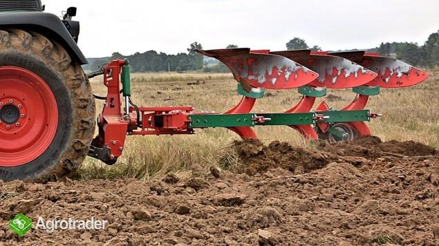 Pług obrotowy obracalny Pługi zabezpieczenie resorowe Agro-Masz - zdjęcie 3