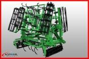 Agregat uprawowy hydrauliczny DZIEKAN hydraulicznie składany