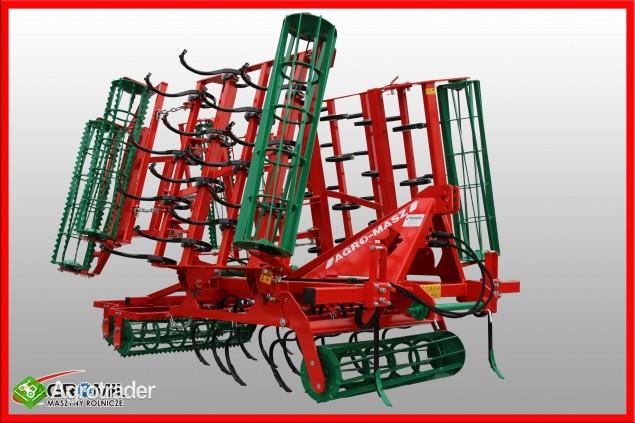 Agregat uprawowy hydrauliczny AGRO-MASZ hydraulicznie składane