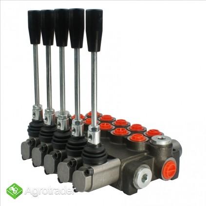 Rozdzielacz hydrauliczny 5 sekcyjny 40L