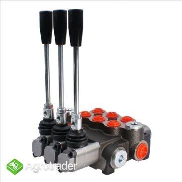 Rozdzielacz hydrauliczny 3 sekcyjny 80L