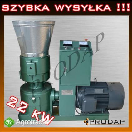 Elektryczna Peleciarka Maszyna do Pelletu Granulator 22kW NOWA! FV!