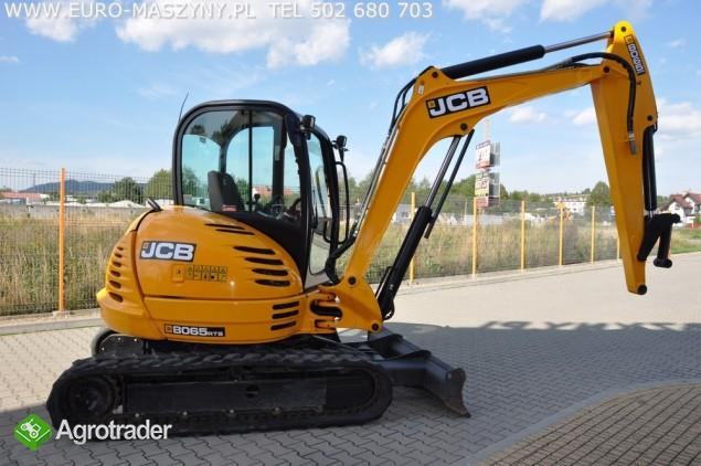 Euro-Maszyny JCB 8065 RTS ! - zdjęcie 1