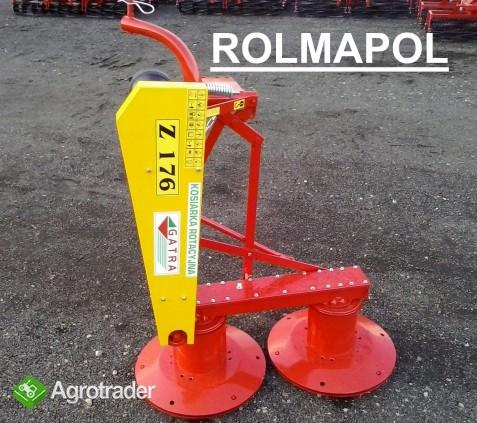 Kosiarka Rotacyjna wzmocniona GATRA, ROLMAPOL - zdjęcie 3