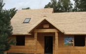 Dachy z wióra osikowego, krycie dachów wiórem, gontem drewnianym