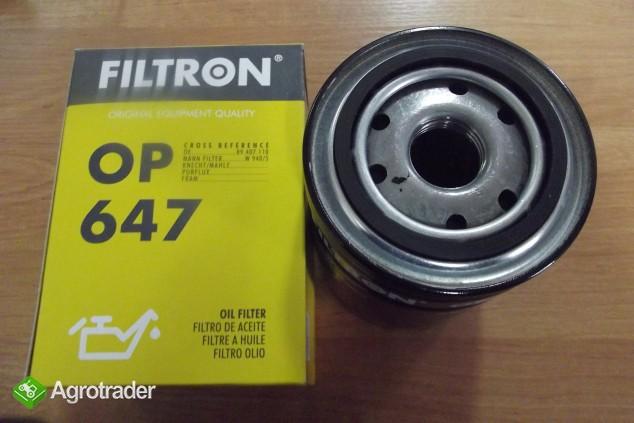 Filtr oleju URSUS C-330,C-330M,C-335,C-360, 1201, 1204 OP647 FILTRON - zdjęcie 1
