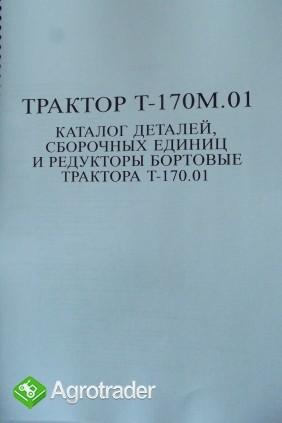 Katalog części zamiennych ciągnika T 170