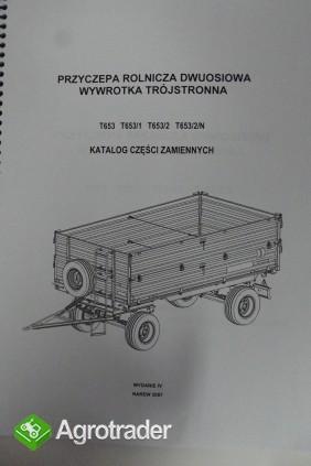 Katalog Pronar przyczepy,maszyny użytkowe,Instrukcje obsługi. - zdjęcie 1