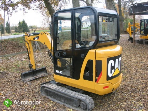 Sprzedaż minikoparek Kraków - CAT 3018C 2008 - zdjęcie 3