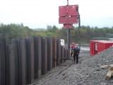 Używany wibromłot PVE 38M do pracy na dźwigu
