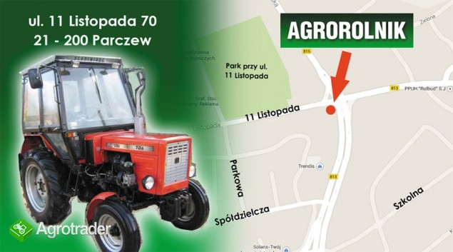 Katalog części, instrukcja obsługi Rozrzutnik Obornika Dwuosiowy 4 T - zdjęcie 2