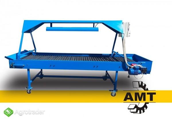 AMT Stół selekcyjny rolkowy, stół przebierczy  - zdjęcie 1