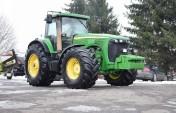 Ciągnik rolniczy JOHN DEERE 8520 POWERSHIFT - 2002 ROK