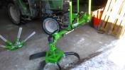 Wygarniacz sadowniczy patyków na gumy