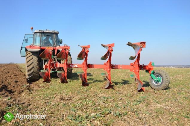 Pług pługi Agro-Masz obrotowy obracalny zrywalny zrywalne - zdjęcie 2
