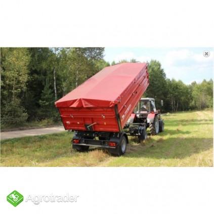 Przyczepa rolnicza przyczepy dwuosiowa METAL-FACH - zdjęcie 1