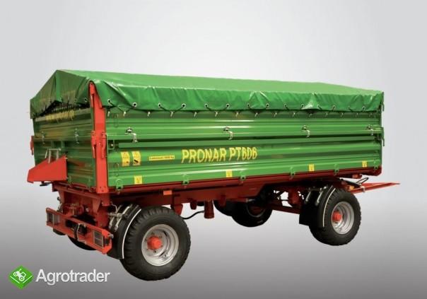 Przyczepy rolnicze PRONAR - autoryzowany dystrybutor