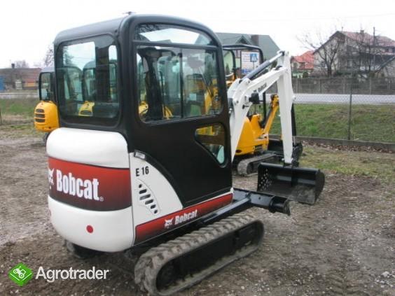 Sprzedam koparkę Bobcat E16 2011 - zdjęcie 1
