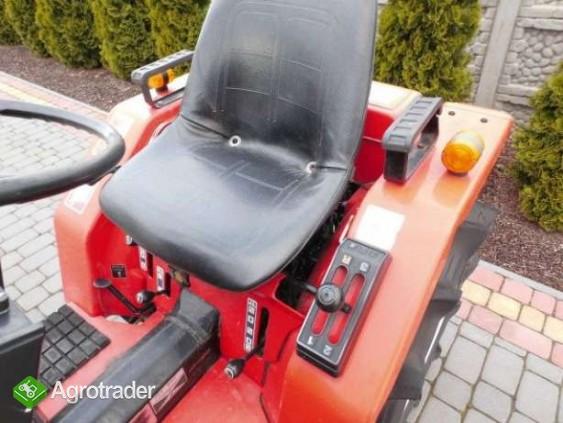 Yanmar F15 15KM 4x4 mini traktorek ogrodniczy kubota iseki - zdjęcie 4