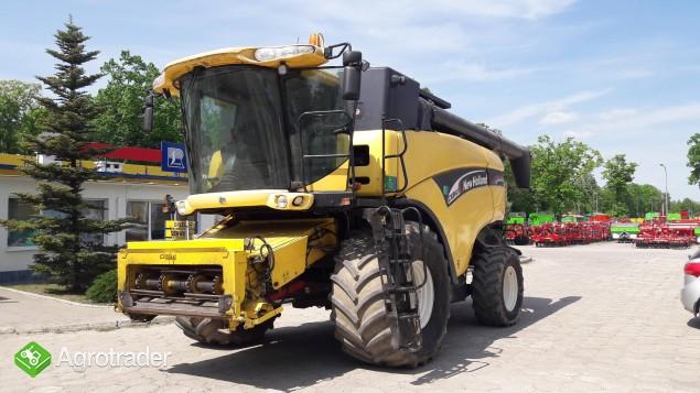 Kombajn zbożowy New Holland CX 860 - zdjęcie 6
