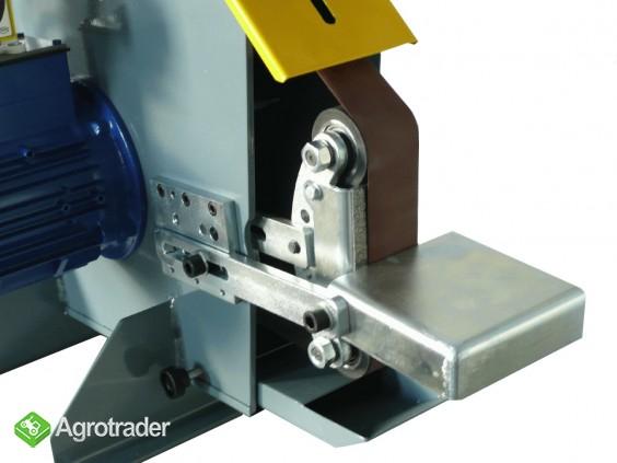 Szlifierka taśmowa z falownikiem - stołowa przemysłowa stacjonarna - zdjęcie 4