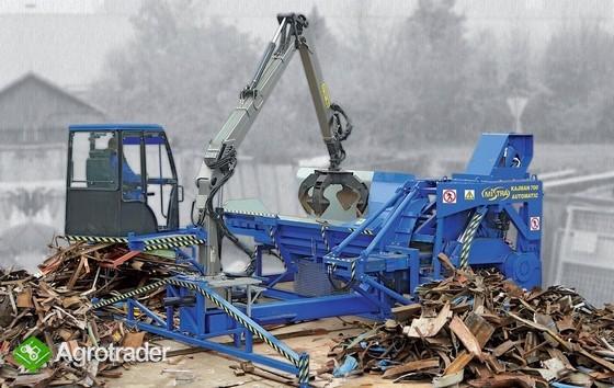 Maszyna do cięcia złomu - prasonożyce mobilne  - zdjęcie 1