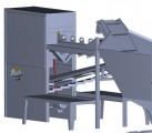 Maszyna do obierania cebuli PMK P100 obieraczka cebuli