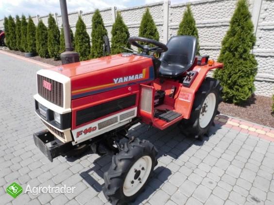 Yanmar F14 super stan mini traktor kubota iseki mitsubishi  - zdjęcie 2