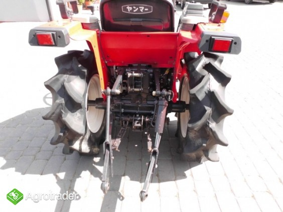 Yanmar F-5 4x4 super stan kubota iseki mini traktor - zdjęcie 4