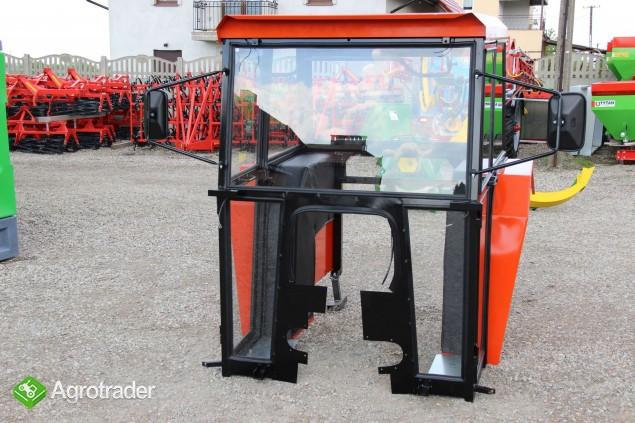 Kabina ciągnikowa do ciągnika MF 235 255 LUX z błotnikami CE - zdjęcie 6