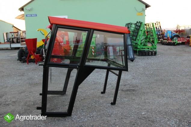 Kabina ciągnikowa do ciągnika MF 235 255 LUX z błotnikami CE - zdjęcie 8
