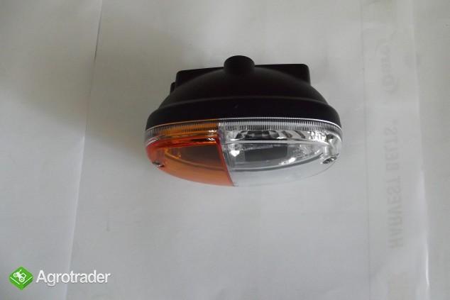 Lampa przednia kierunkowskazu 12V/24V ZETOR, JOHN DEERE, NEW HOLLAND   - zdjęcie 1