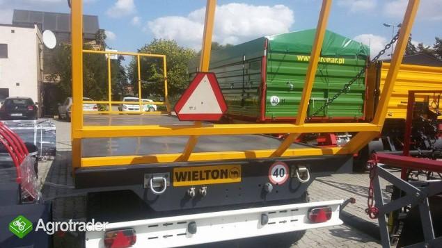 Przyczepa do przewozu bel WIELTON PRS-2S/S9 - zdjęcie 3