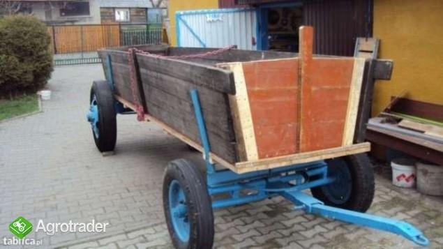 Srzedam wóz dwuosiowy do ciągnika - zdjęcie 1