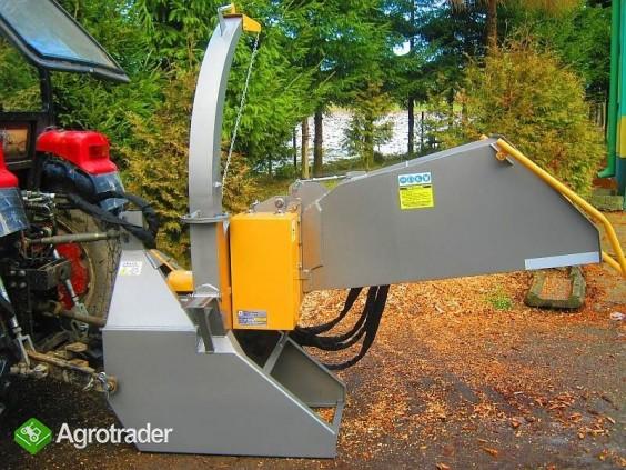 Rębak ciągnikowy do gałęzi  RTH1 ENT napęd z WOM, min 20 kM, 2 noże - zdjęcie 7