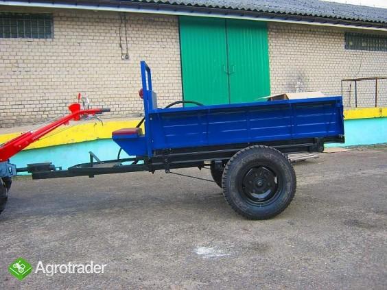 Ciągnik jednoosiowy, traktor z glebogryzarką  24 KM, silnik Diesla - zdjęcie 4