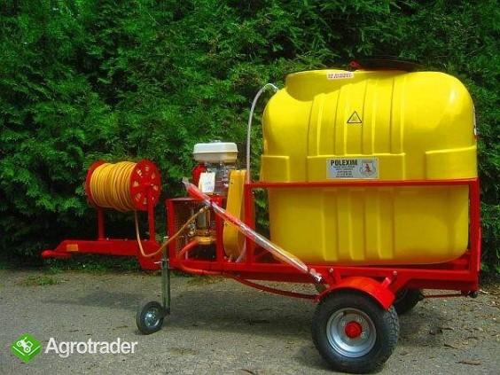 Opryskiwacz  do wózków widłowych ładowarek kołowych, 400L, 6,5 kM,