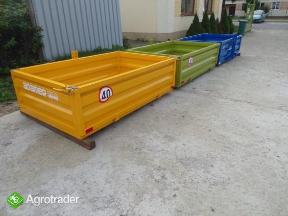 Skrzynia ładunkowa transportowa kontener ciągnik wózek widło ADAMER  - zdjęcie 4