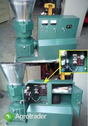 PELLECIARKA: wydajność do 150-250 kg/h, silnik 7.5 kW - zdjęcie 2